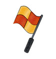 squares flag icon image vector image