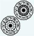 Zodiac signs vector image