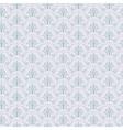 Blue Seamless wallpaper pattern vector image vector image