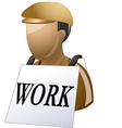 unimployed icon vector image
