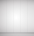 empty room grey background for goods vector image