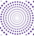 purple dots abstract round seamless pattern vector image