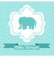 Baby Shower Invitation vector image
