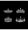 Tiara set vector image