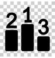 pedestal icon vector image