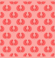 seamless pattern background with kidneys vector image