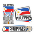 logo philippines vector image