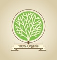 Natural Organic Labels vector image