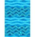 Abstract waves seamless Patterns - Nautical Sea vector image