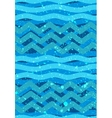 Abstract waves seamless Patterns - Nautical Sea vector image