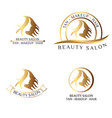 logo for beauty salon spa salon beauty shop vector image
