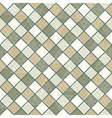Geometric pattern with squares and triangles vector image