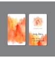 Business Card 2 vector image