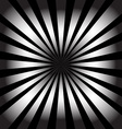 White rays on black background Abstract background vector image