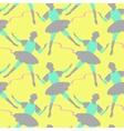 Ballet seamless pattern vector image