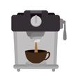 coffee maker machine vector image