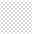 seamless background with black dots vector image