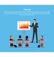 Training Staff Briefing vector image