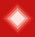 Red abstract material design background vector image