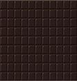 Chocolate seamless dark handmade bio food vector image vector image