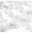 Fresh snow texture with star background vector image