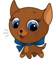 cute kitten vector illustration vector image vector image