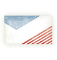 Stars and Stripes background vector image vector image
