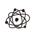 atom doodle cartoon vector image