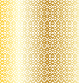 gold nordic pattern vector image