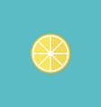 flat icon lemon element of vector image
