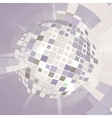 Disco ball explosion vector image
