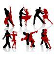 ballroom dance vector image