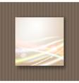 soft dreamy light strokes vector image vector image
