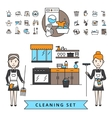 Cleaning Design Concept vector image