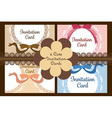 elegant and cute stylish ribbon and lace vector image