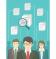 Human Resources Management vector image
