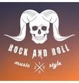 Logo of Rock Music vector image