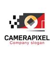Camera Pixel Design vector image