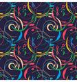 elegant floral wallpaper seamless vector image