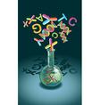 Genetic Engineering vector image