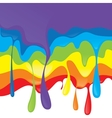 rainbow design vector image