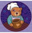 bear 3 vector image