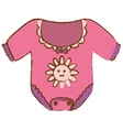 baby clothing icon vector image