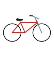 bicycle transport active sport vector image
