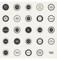 Premium Quality labels vector image