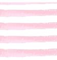 Brushstroke watercolor pastel art pink line vector image