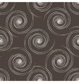 Hand drawn seamless brown and white background vector image