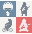 Fun Bears vector image