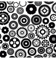 Isolated gears design vector image