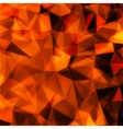 Abstract red 3D background EPS 10 vector image